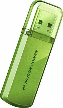 USB флеш накопитель Silicon Power Helios 101 16 GB Green (SP0016GBUF2101V1N)
