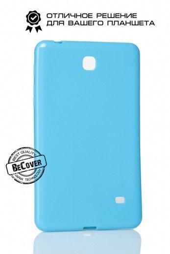 Силиконовый чехол-книжка BeCover для Samsung Tab E 9.6 T560/T561 Blue
