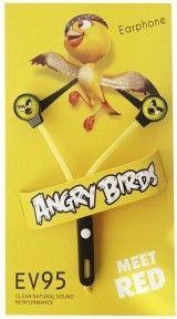 Навушники Minions Angry Birds EV95 Yellow