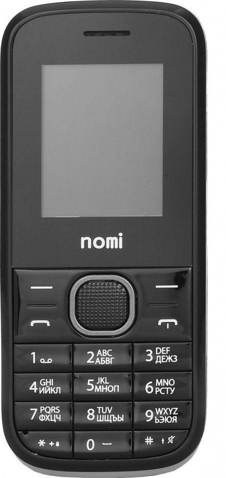 Мобильный телефон Nomi i181 Black-Gray