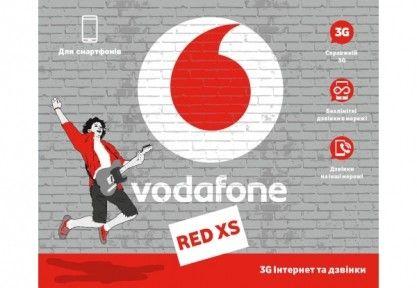 Стартовий пакет Vodafone RED XS
