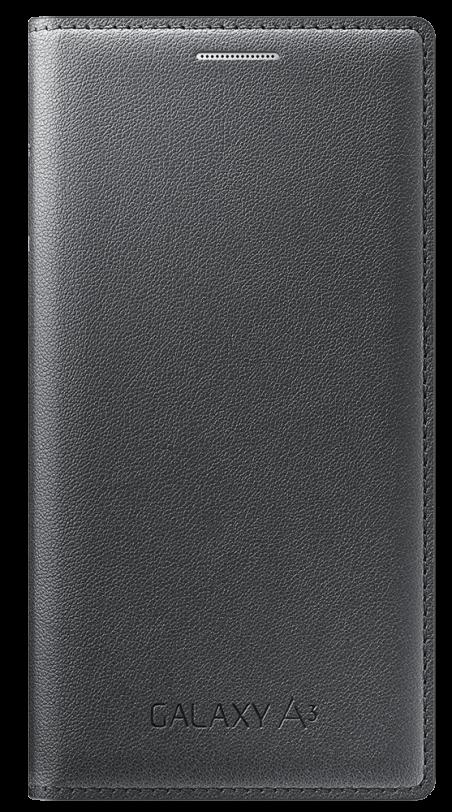Чехол Samsung Flip Cover для Samsung Galaxy A3 Charcoal (EF-FA300BCEGRU)