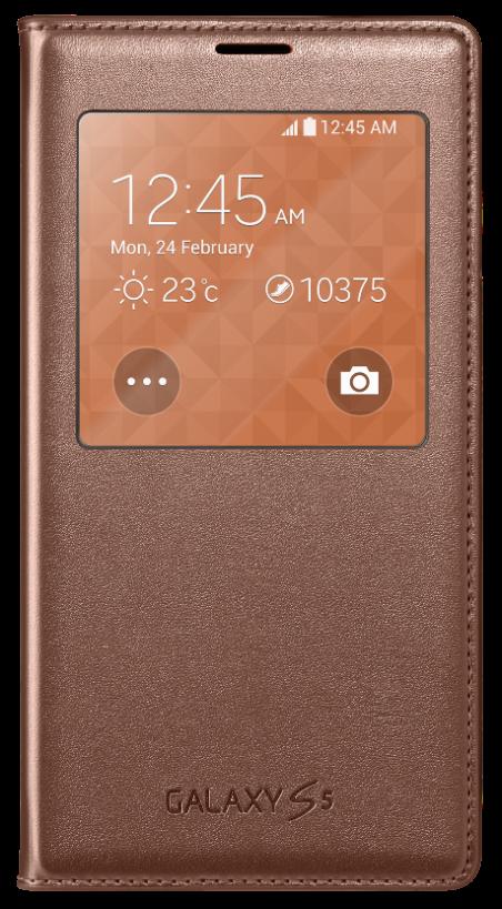 Чехол Samsung S View для Samsung Galaxy S5 Rose (EF-CG900BFEGRU)