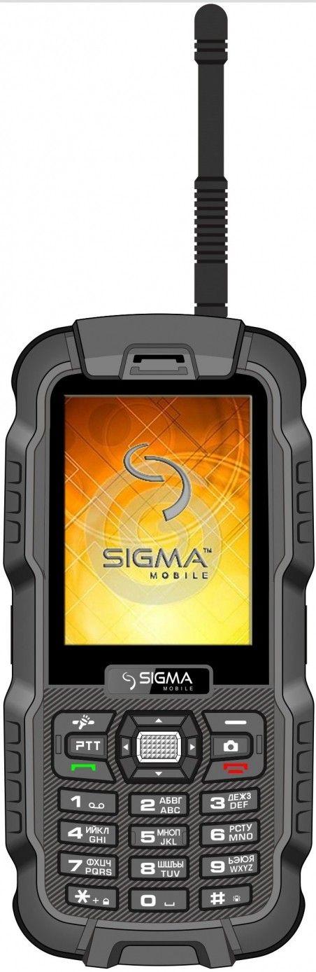 Мобильный телефон Sigma mobile X-treme DZ67 Travel Black