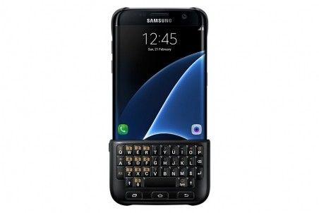 Чехол-клавиатура Keyboard Cover Samsung Galaxy S7 edge
