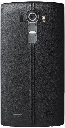 Накладка LG G4 Leather Battery Cover для LG G4 H818 Black (CPR-110.AGEUBK)