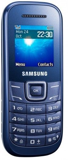 Мобильный телефон Samsung E1200 Indigo Blue
