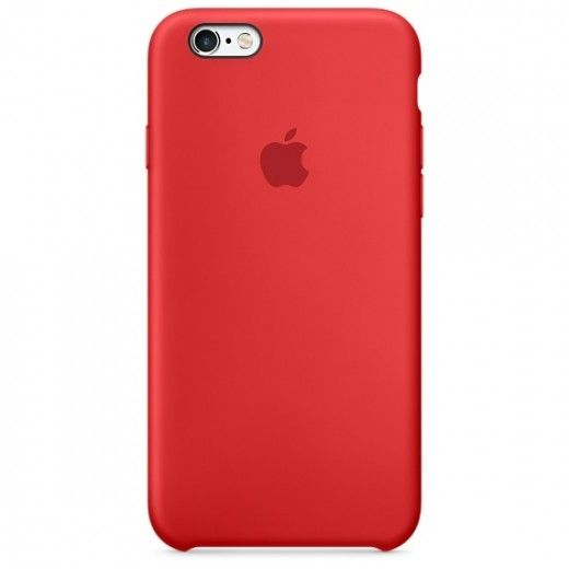 Панель Apple iPhone 6s Silicone Case Red (MKY32ZM/A)