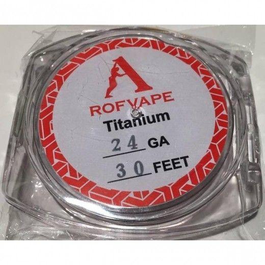 Проволока для спирали Rofvape Clapton Wire 24GA+30GA 5 м (PVCW2430)
