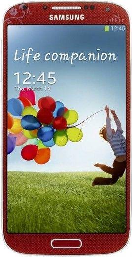 Мобильный телефон Samsung I9500 Galaxy S4 Red La Fleur