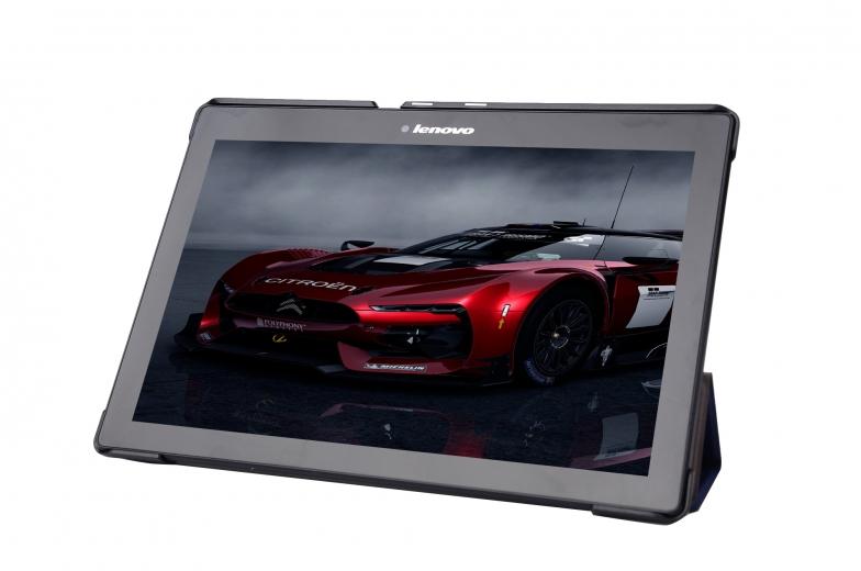 Обложка AIRON Premium для Lenovo Tab 2 A10 Blue
