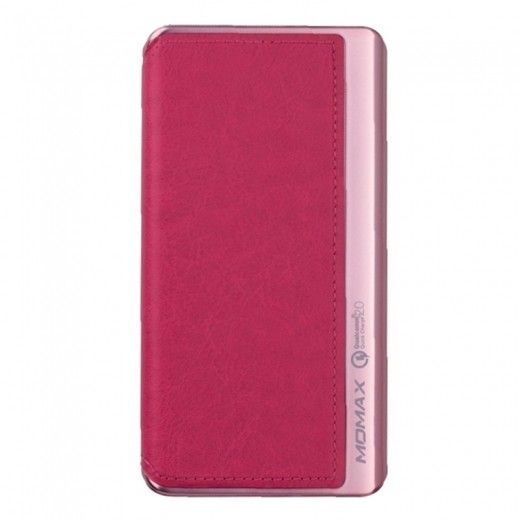 Портативная батарея MOMAX iPower Elite+ External Battery Pack 8000mAh QC2.0 Pink (IP52AP)