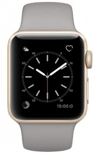 Смарт часы Apple Watch Series 2 38mm Gold Aluminum Case Concrete Sport Band
