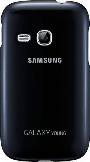 Накладка Samsung для Galaxy Young S6312 Blue (EF-PS631BLEGWW)