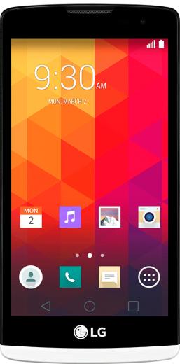 Мобильный телефон LG Leon Y50 H324 White