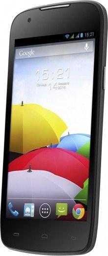 Мобильный телефон Fly IQ4405 Quad Evo Chic Black