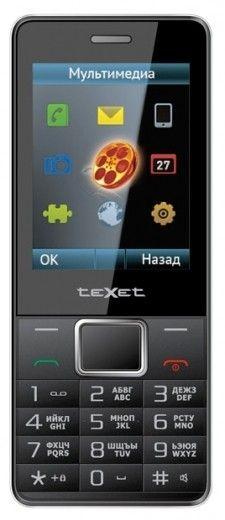 Мобильный телефон teXet TM-D225 Black