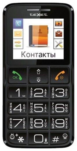 Мобильный телефон Texet TM-B112 Black