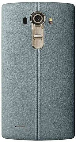 Накладка LG G4 Leather Battery Cover для LG G4 H818 Sky Blue (CPR-110.AGEUBL)