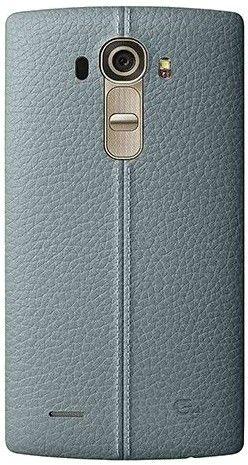 Накладка LG G4 Leather Battery Cover для LG G4 H818 Sky Blue (CPR-110.AGEUBL)
