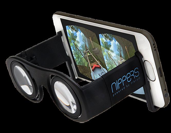 Пенсне виртуальной реальности FIBRUM Nippers (FBNBL)