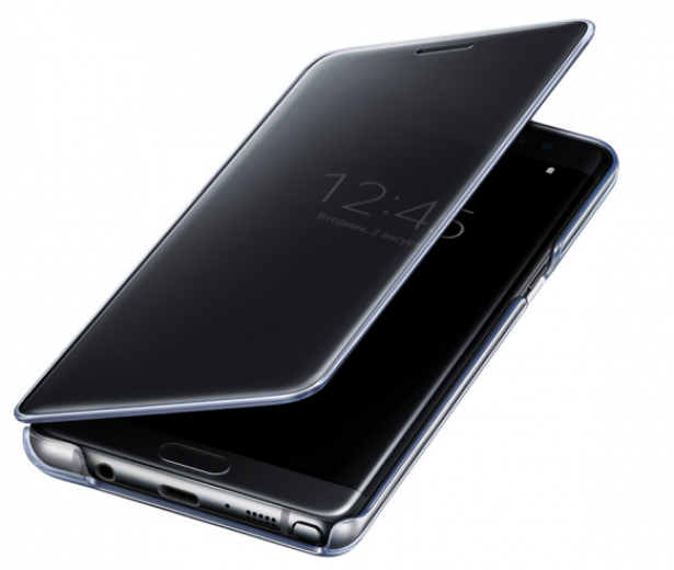 Чехол Samsung Clear View Cover Note 7 Black (EF-ZN930CBEGRU)