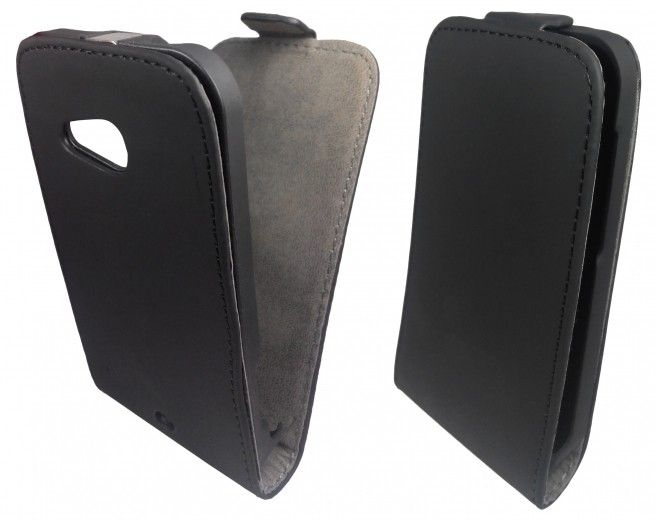 Чехол GlobalCase (Flip) для HTC 200 Black