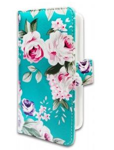 Чехол-книжка Samsung G360 Green flowers