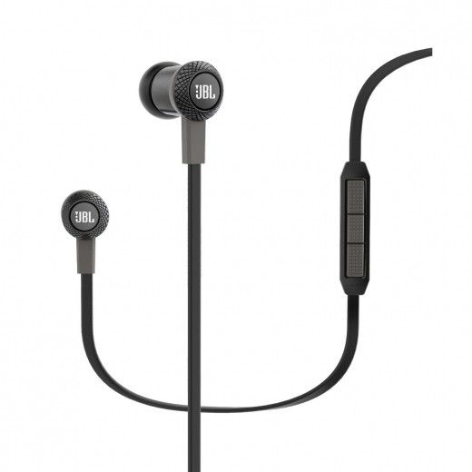 Навушники JBL In-Ear Headphone Synchros S100a Black (SYNIE100ABLK)