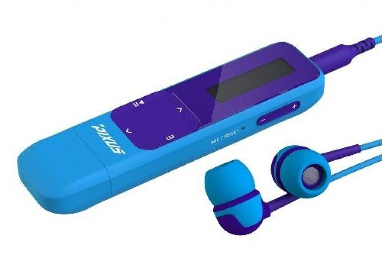 MP3-плеер Pixus Six 8GB New Blue