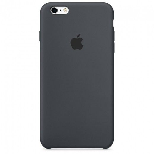 Силиконовый чехол Apple iPhone 6s Plus Silicone Case (MKXJ2) Charcoal Gray