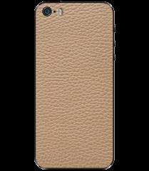 Кожаная наклейка Classic Ivory для iPhone 5S/SE