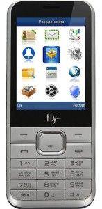Мобильный телефон Fly DS133 Silver