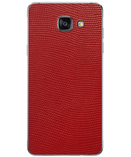 Кожаная наклейка Red Stingray для Samsung Galaxy A3 (2016)