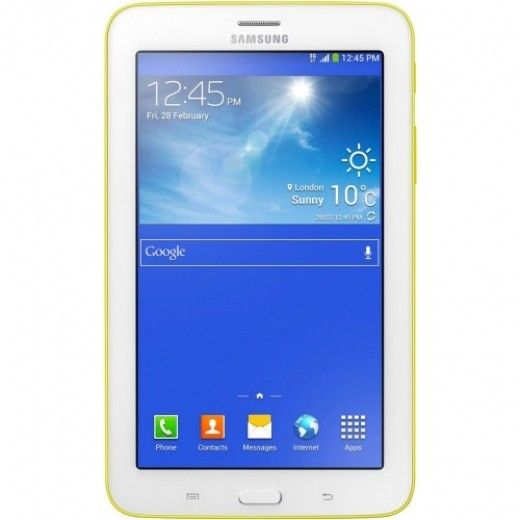Планшет Samsung Galaxy Tab 3 Lite 7.0 8GB Lemon Yellow (SM-T110NLYASEK)