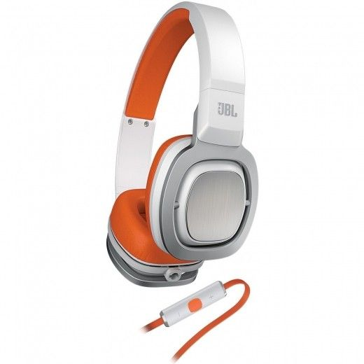 Навушники JBL On-Ear Headphone J88i White/Orange (J88I-WOR)