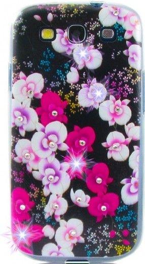 Чехол Diamond Silicone Samsung J500 Wild Orchid