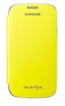 Чехол Samsung для Galaxy SIII i9300 Yellow (EFC-1G6FYECSTD)
