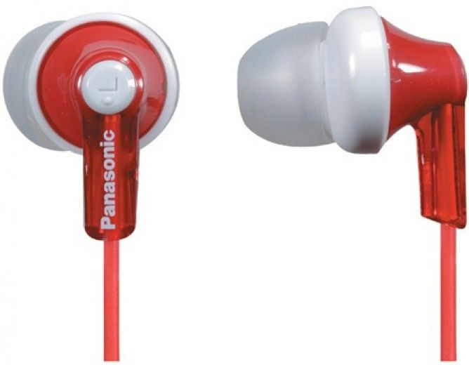 Навушники Panasonic RP-HJE118GU-R Red