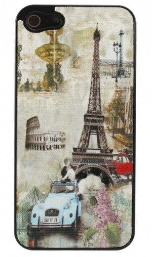 Накладка Perfektum Art series iPhone 5 Europe