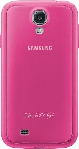 Чехол Samsung для Galaxy S4 I9500 Pink (EF-PI950BPEGWW)