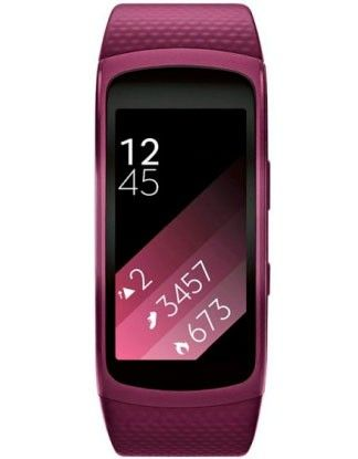 Фитнес-трекер Samsung Gear Fit 2 Pink (SM-R3600ZIASEK )