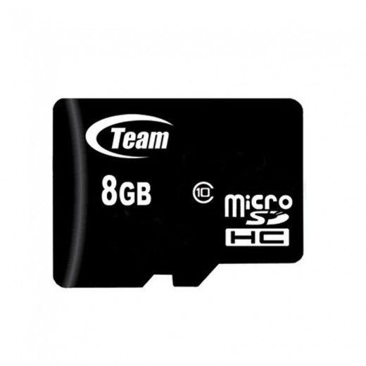 Карта памяти Team 8 GB Micro SD сlass 10