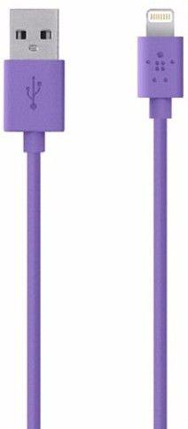 Кабель синхронизации BELKIN iPhone 5 Violet (BK023)