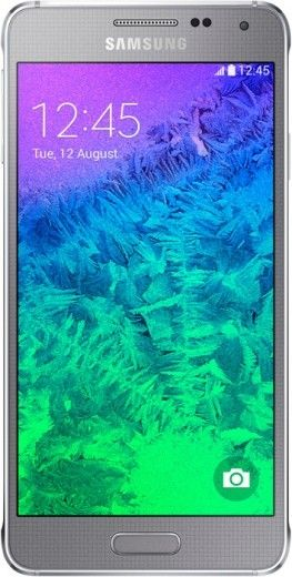 Мобильный телефон Samsung Galaxy Alpha G850F Sleek Silver