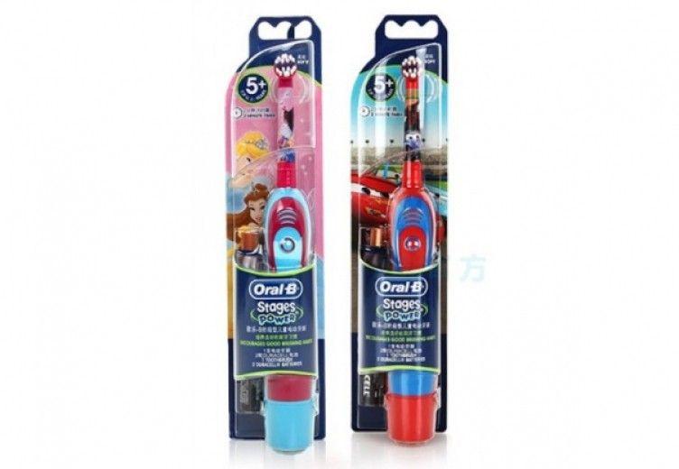 Электрическая зубная щетка BRAUN ORAL_B DB4 детская