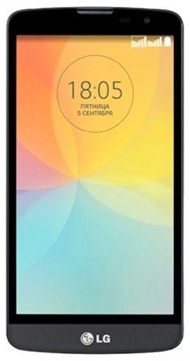 Мобильный телефон LG L Bello D335 Black