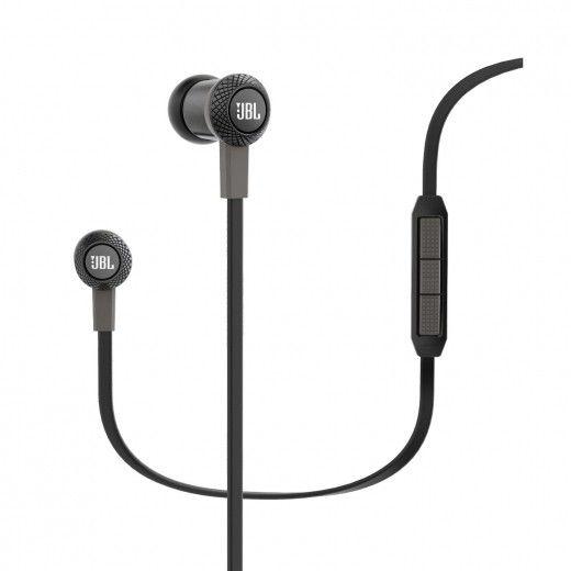 Навушники JBL In-Ear Headphone Synchros S100i Black (SYNIE100IBLK)