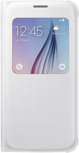 Чехол Samsung S View Zero для Samsung Galaxy S6 White (EF-CG920PWEGRU)