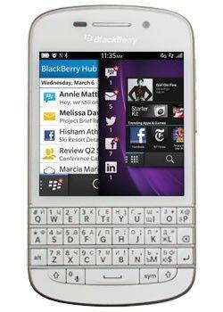 Мобильный телефон Blackberry Q10 White